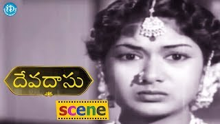 #Mahanati Savitri Devadasu Movie Scene - Savitri Gives Her Gold To Her Step Daughter || ANR, Savitri - IDREAMMOVIES