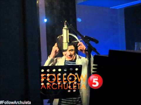 David Archuleta sings Nandito Ako - a first peek -9UmVSYs0NHs