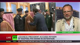 Saudi Arabia holding PM Hariri & family in 'act of aggression' – Lebanese president - RUSSIATODAY