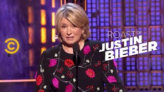 Roast of Justin Bieber - Martha Stewart - Changing Lives for the Better - COMEDYCENTRAL