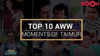 Top 10 cute & adorable videos of Taimur Ali Khan on the Internet | Bolly Quickie - ZOOMDEKHO