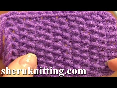 Knitting Stitch Pattern for Beginners Tutorial 2 Knitting Stitches