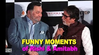 FUNNY MOMENTS of Rishi & Amitabh | 102 Not Out | Badumbaaa launch - BOLLYWOODCOUNTRY