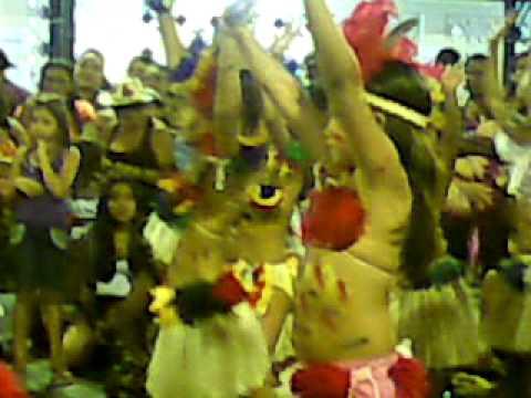 Danças de rituais dos indios da Amazonia.