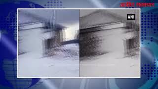 video : पीरपंजाल में हुई ताज़ा बर्फ़बारी