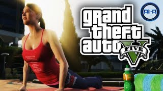 GTA 5 Trailer - Grand Theft Auto V - Should Ali-A Play It?