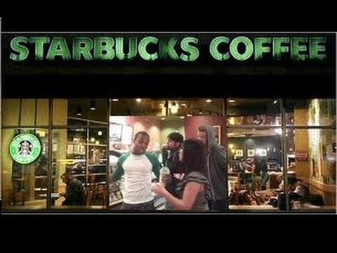 Todrick Hall sings Starbucks Follow @toddyrockstar on Twitter!!!