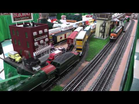 National Capital Trackers at the 2014 Rockville Train Show