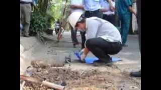 Hố phun lửa ở Sài Gòn