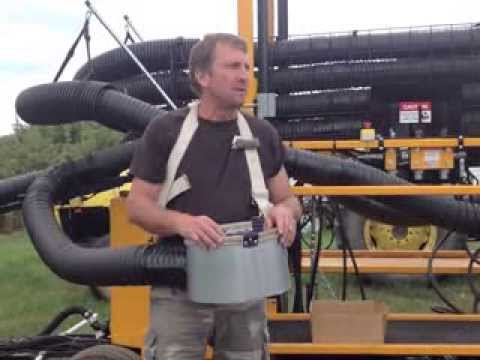 Novel Vacuum Fruit Harvester - Mike Rasch, MI