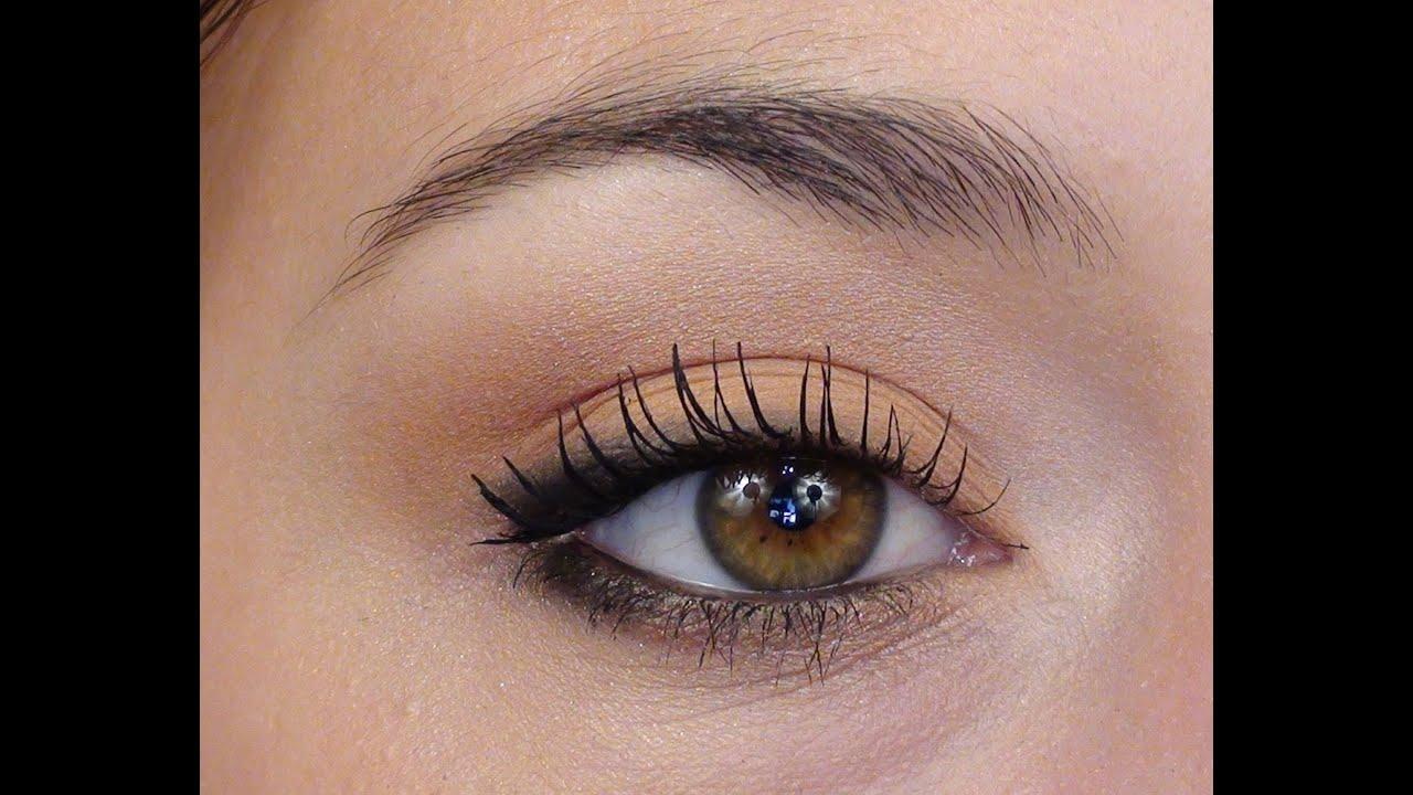 Maquillage yeux marrons pour tous les jours - Yeux vert marron ...