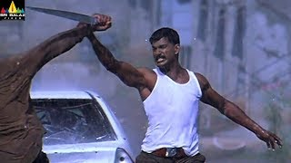 Salute Movie Scenes | Vishal Powerful Rain Fight | Telugu Movie Scenes | Sri Balaji Video - SRIBALAJIMOVIES