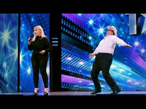 Barbara and Bradley dance poetry - Britain's Got Talent 2012 audition - International version