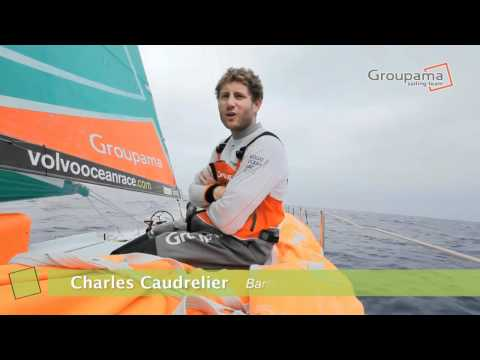 Charles Caudrelier - VOR12 &#8211; Anniversaire de Charles