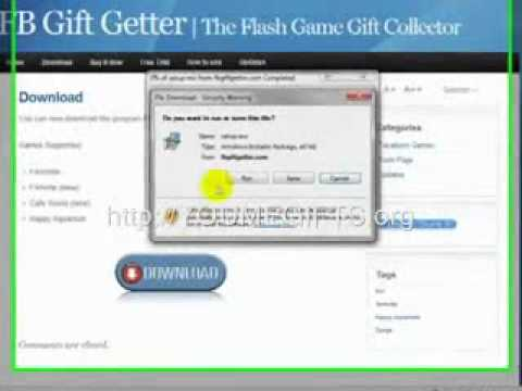 Farmville Gift Collector 2011