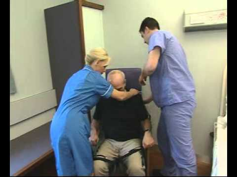 OXFORD Professional Presence Patient Hoist - chair to bed transfer