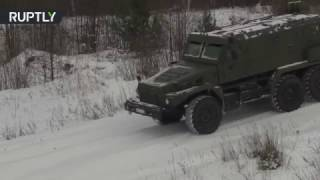 New 12-ton 'Patrol' truck devours snowy offroad during Russian military tests - RUSSIATODAY