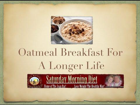 Oatmeal Breakfast For A Longer Life