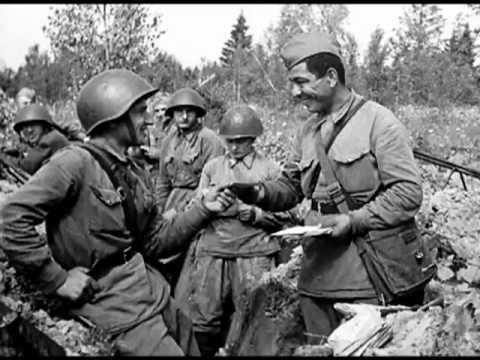 Владимир Высоцкий - Письмо перед боем