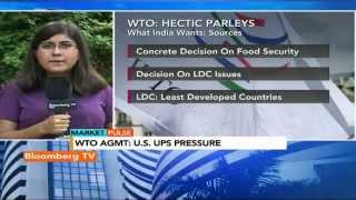 Market Pulse: WTO: India Willing To Soften Its Stance? - BLOOMBERGUTV