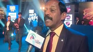 Secretary General of the wrestling federation of India V.N Prasood speaks on PWL season 3 - ITVNEWSINDIA