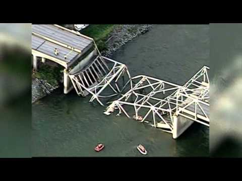 Raw Video: Washington State Bridge Collapse