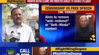 Dinanath Batra claims HRD minister agrees to change syllabus - NEWSXLIVE