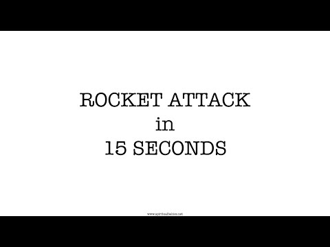 Rocket Attack in 15 Seconds. What would you do?