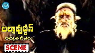 Allauddin Adhbhuta Deepam Movie Scenes - Abdullah Throws Allauddin In To A Cave || Kamal Hassan - IDREAMMOVIES