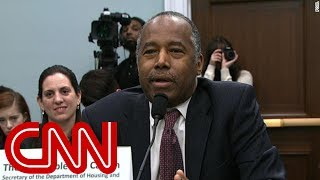 Carson confronted about furniture cost on Capitol Hill - CNN