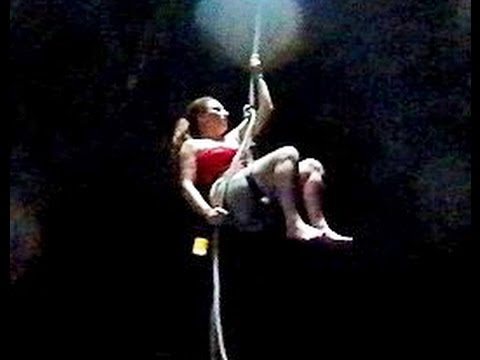 Thumbnail image for 'Women Rappel 45' Into A Cenote Jungle Cave in Mexico - An Eco-Hula Empowerment Eco-Adventure - 8'