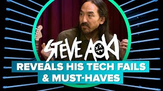 Steve Aoki reveals his tech fails and must-haves - CNETTV