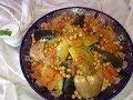 Couscous marroquí el auténtico . Autenticul couscous marocan. Recette couscous .