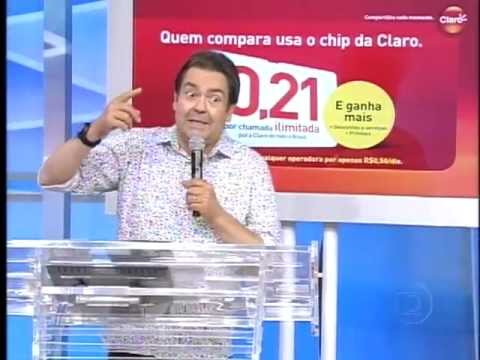 Vídeo Cassetadas   Domingão do Faustão   2013