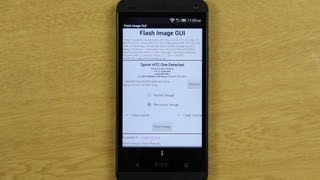 Flash Image GUI on the HTC One