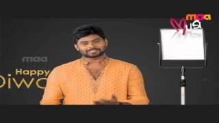 Maa Music : VJ Shehansha Wishing Happy And Safe Diwali Wishes - MAAMUSIC