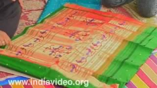 Paithani Saree, Handloom, Maharashtra, Surajkund Crafts Mela, India