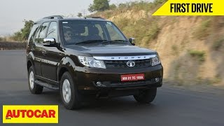 2015 Tata Safari Storme | First Drive | Autocar India