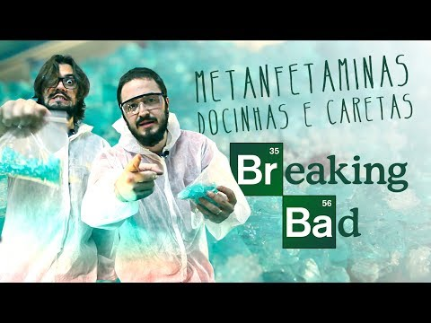 METANFETAMINAS Docinhas e Caretas do Breaking Bad | Miolos Fritos Culinária Nerd