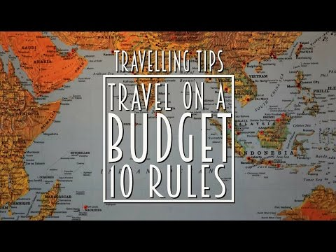 Episode 1-  Travelling Tips: 10 Rules to save money while travelling!!!
