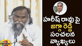 Jagga Reddy Controversial Comments On Harish Rao | Jagga Reddy Press Meet | Telangana | Mango News - MANGONEWS