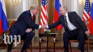 Trump to Putin: 'I think we'll end up having an extraordinary relationship' - WASHINGTONPOST