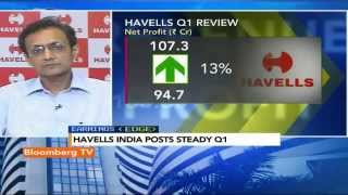 Earnings Edge- Havells India Posts Steady Q1 - BLOOMBERGUTV