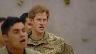 بالفيديو| رقصة شعبية تجمع بين أمير «ويلز» وأفراد الجيش النيوزيلندي