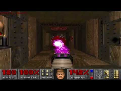 [Doom 2] Hatomo Battles The Yomi Demons - Map 50: The Ganja Underground Part 1