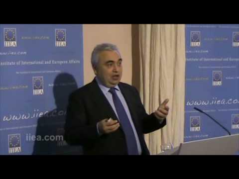 Dr. Fatih Birol on World Energy Outlook post Copenhagen