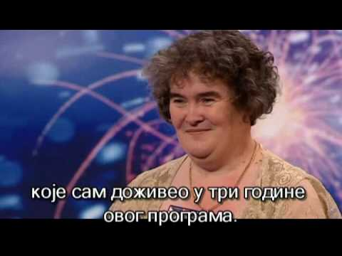 Susan Boyle I Dreamed a Dream HQ full srpski