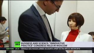 18th century Moscow, virtual chemistry lab & chatting robots: Innovation forum kicks off in Russia - RUSSIATODAY