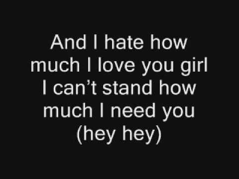 Rihanna feat Ne Yo Hate that I love you with lyrics