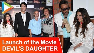 Esha Gupta, Jackie Shroff At Launch Of An Indo Iran Production- DEVIL'S DAUGHTER - HUNGAMA